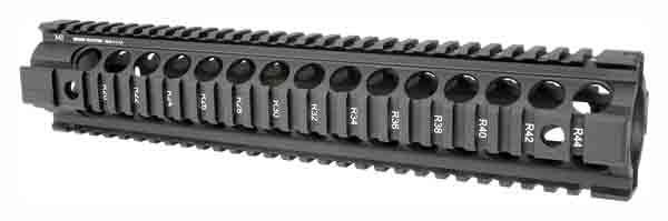 Midwest Industries Quad-Rail Drop In For AR-10 Armalite Rifle Length